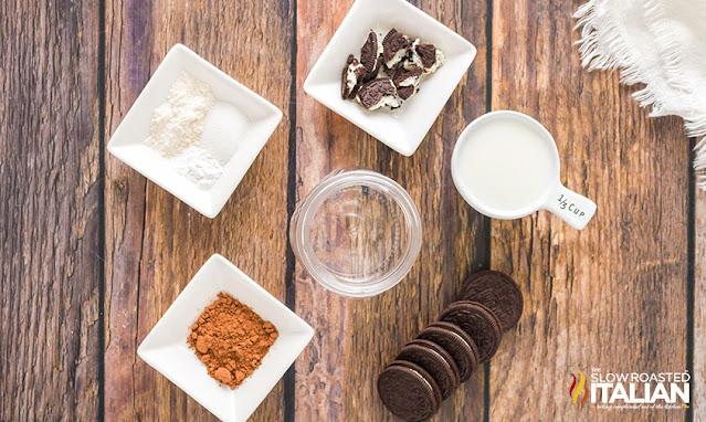 Ingredients Oreo Mug Cake