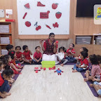 Red Day Celebration by Nursery Afternoon Section at Witty World, Chikoowadi (2018 - 19)