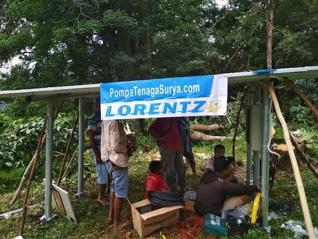 Hadir Teknologi Pompa Air Tenaga Surya , Masyarakat Desa Malawaru Nikmati Air Minum Bersih