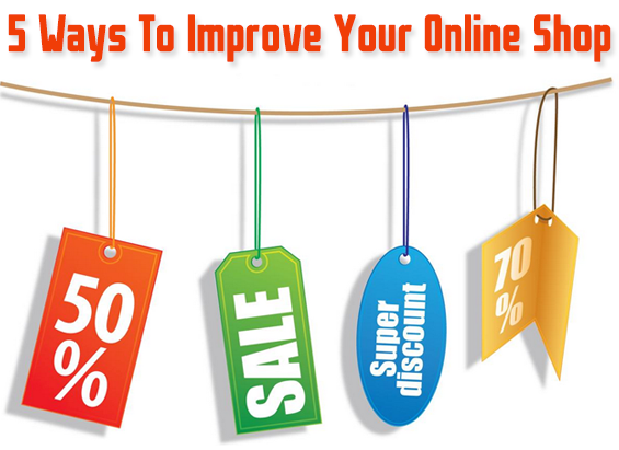 5 ways to Optimize your online shop