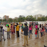Inauguration of Night camp, than dance, music, activities, sports, pot making, and fun.....