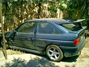 Abandoned Ford Escort Cosworth (Cossie)