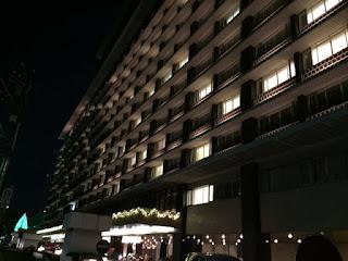 クリスマスイブのホテルオークラ別館 マジシャンえいち