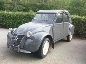 Citroën 1953 2 CV Type A gris foncé