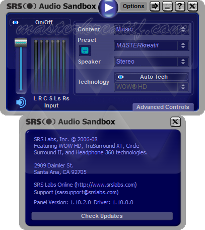 Audio sandbox full download 32bit srs crack