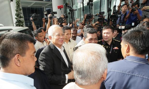 Siasatan 1MDB: Najib tiba di SPRM