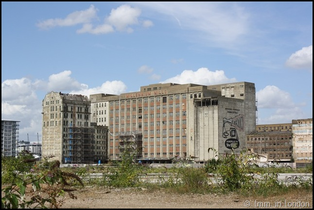 Derelict London Silvertown - Millennium Mills