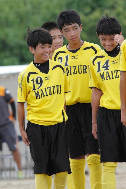 SkyLights 20140802舞鶴中サッカー部 ...