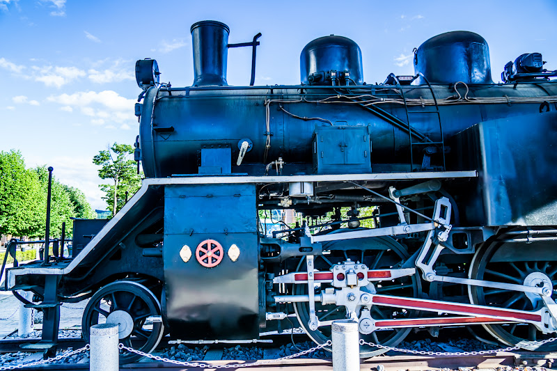 Steam Locomotive at Chino Station photo3