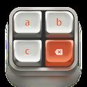 Mechanical panda keyboard icon