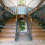 Maison de Chateaubriand : escalier
