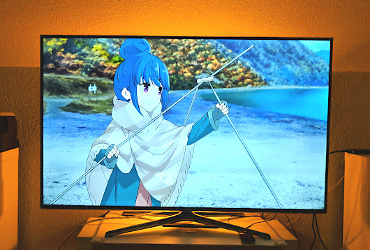 Awesome... Watching Laid Back Camp