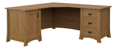 Seville L-Shaped Desk