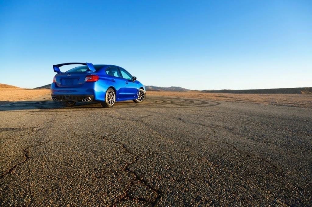 2015 Subaru WRX STI Launch Edition rear_2