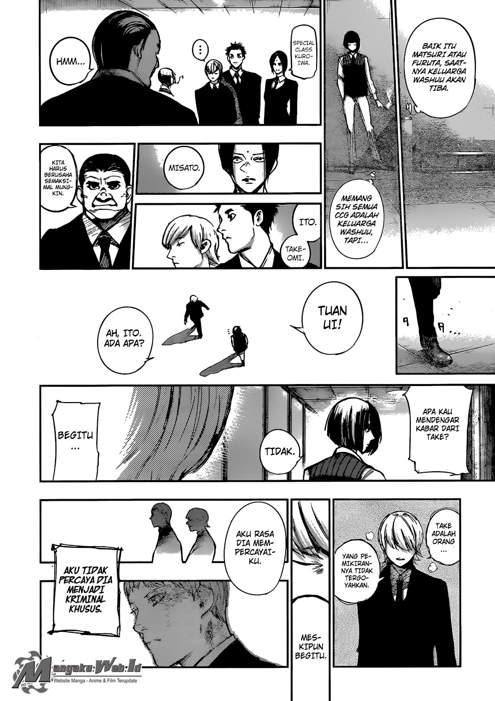 Tokyo Ghoul: Re Chapter 100-8