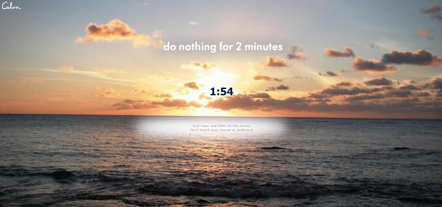 nao-faca-nada-por-2-minutos