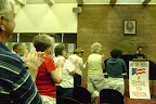 Standing Ovation for Providence Crowder and for Chaplain Ayesha Kreutz (President of the Frederick Douglass Foundation)