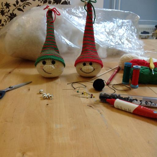 The Crazy Quilt Haken Voor Kerst