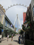 It's always fun to see the High Roller from a distance. It's just so huge!