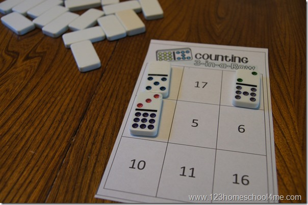 counting game for kids to play together