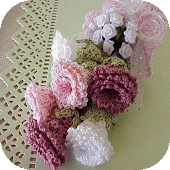 Simple Crochet Flower Ideas