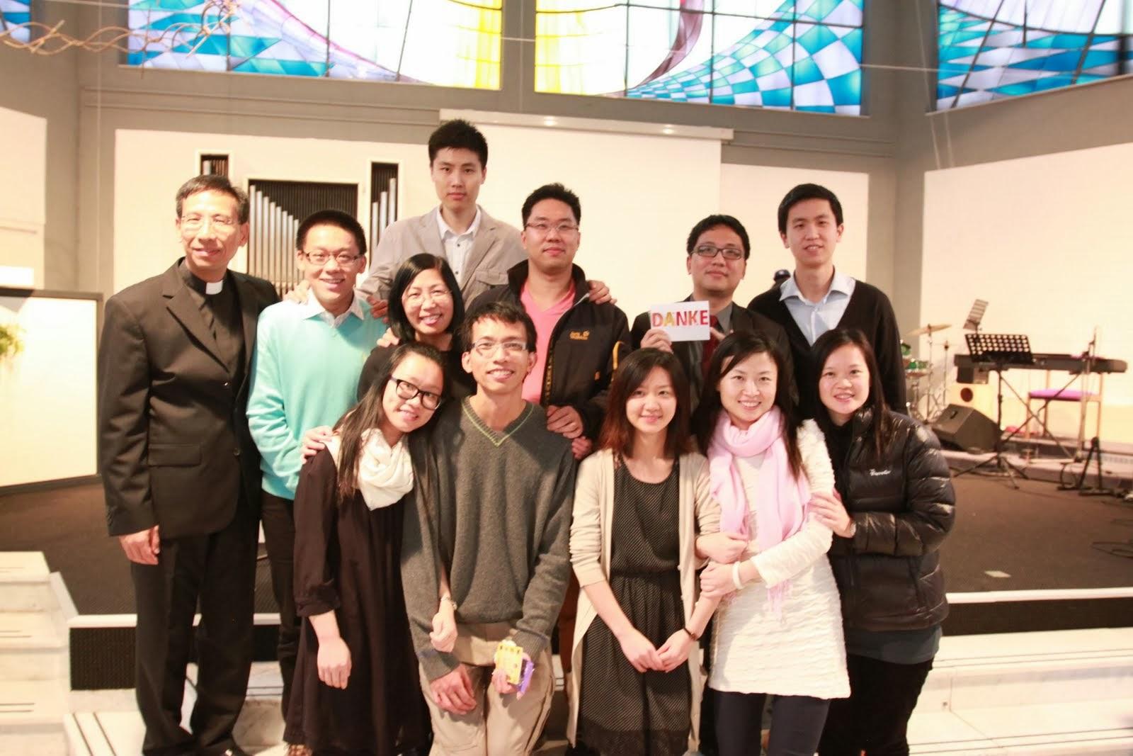 2013年汉堡华人基督教会第二次洗礼圣典