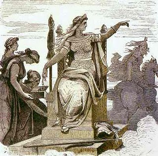 Frigga, Gods And Goddesses 8