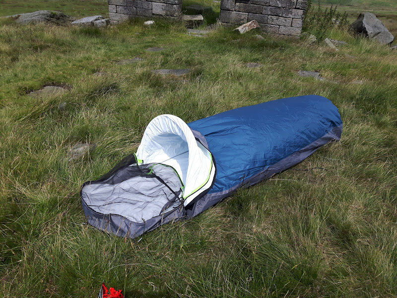 One man tent vs bivy pics for comparisonu2026 & One man tent vs bivy pics for comparison.... - Singletrack Magazine