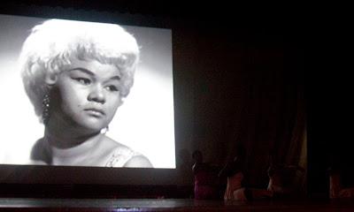 Black History tribute to Etta James.