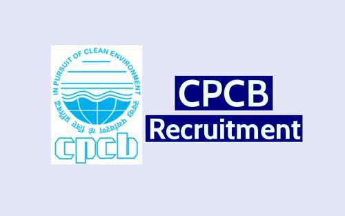 Central Pollution Control Board Jobs Recruitment 2020