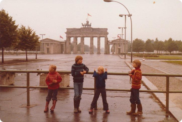 Brandenburger Tor - Berlin 1980