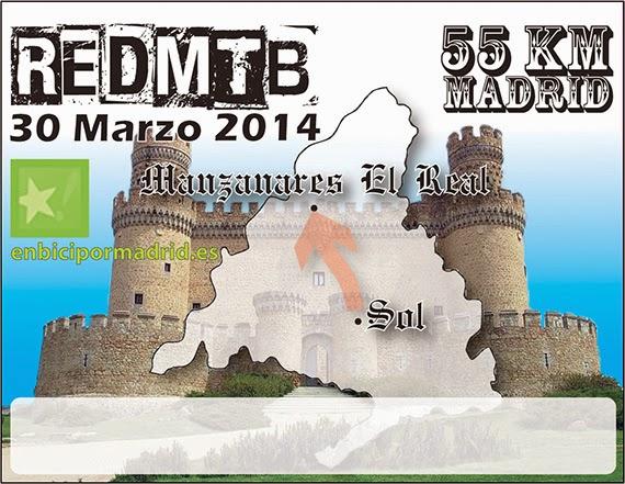 Dorsales para la Red MTB 2014. Grupo Puerta del Sol