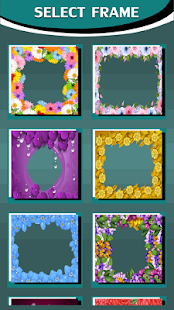 Photo Frames With Flowers - náhled