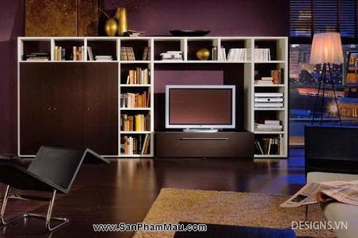 Các mẫu thiết kế nội thất phòng đọc sách P1-18