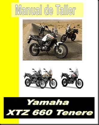 yamaha tenere XTZ 660.manual taller