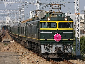 JR西日本「トワイライトエクスプレス」 EF81