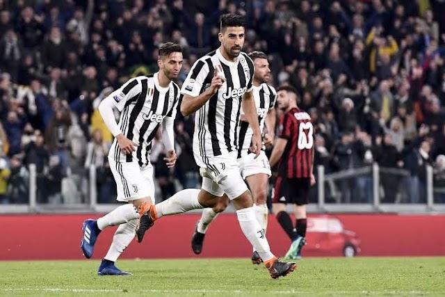 Juventus Defeats Ac Milan 3-1 To End Unbeaten Run