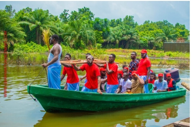 Chevron oil spill: We are going nowhere, Benikrukru leaders as protest enters day 10 (Photos)