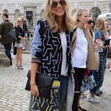 WWW.ENTSIMAGES.COM -      at           LFW - Somerset House Courtyard Sunday September 14th 2014                                              Photo Mobis Photos/OIC 0203 174 1069