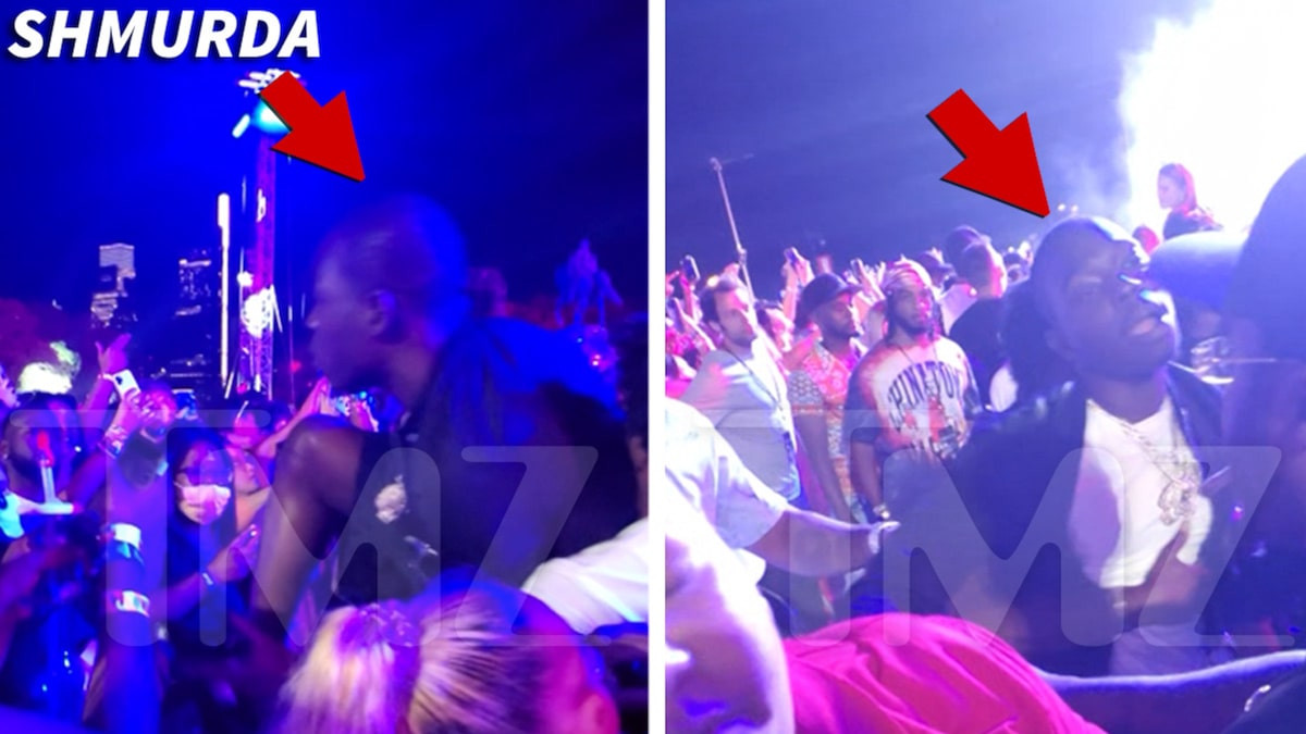 Bobby Shmurda nearly fights fan after water bottle was thrown at him