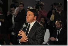L'ex premier Matteo Renzi