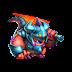Dragón Caballero de Fuego   Fire Knight Dragon