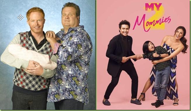 tv modern families