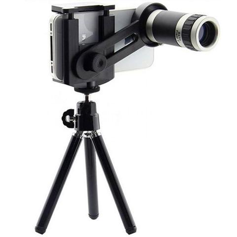 Lensa Telezoom HP dan Tripod Harga Rp79500