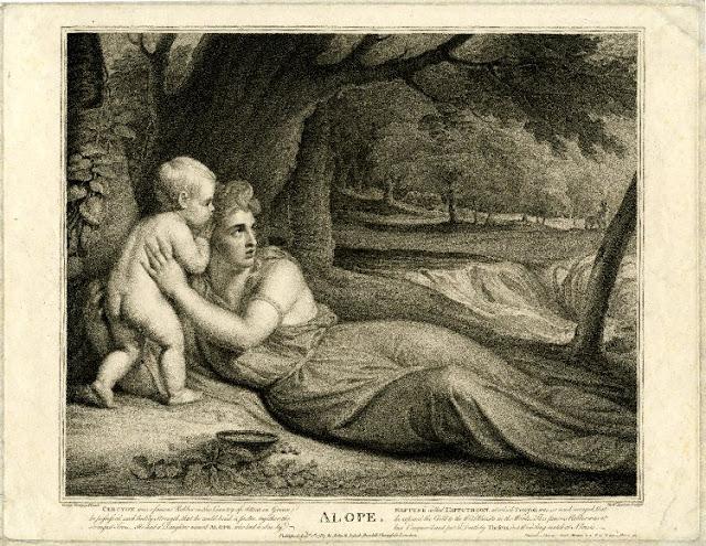 Ιπποθόων,γιος Ποσειδώνα εγγονός του βασιλιά της Ελευσίνας Κερκύονα, Αλόπη.