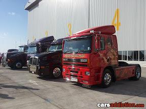 Semi Trailer Trucks - Enter the Dragon Jet Li
