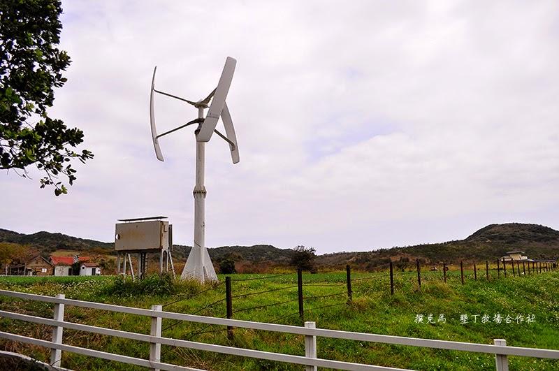 墾丁牧場風力發電機