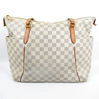 Louis Vuitton Damier Azur Totally PM Shoulder Bag