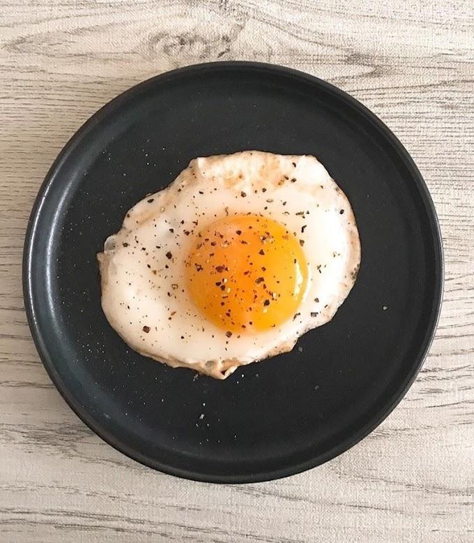 Sunny - Side Up Eggs/ Fried Eggs Recipe | Breakfast Care