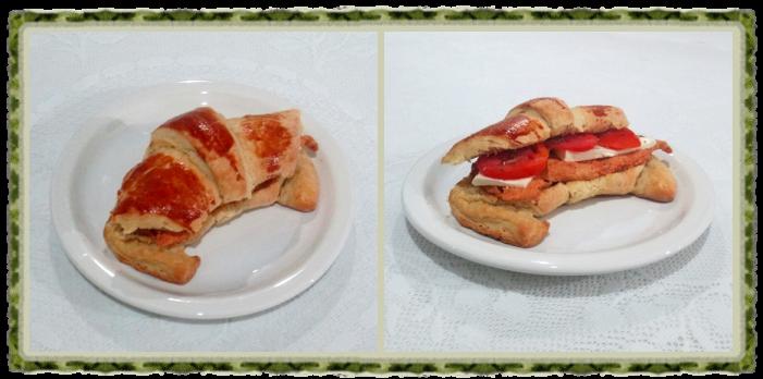 Croissant doce e salgado 9